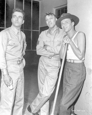 From Here To Eternity Three Men in Khaki Suit Looking at Something
