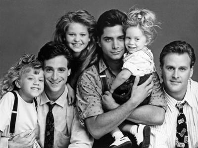 Full House Main Cast Portrait by Movie Star News