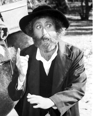 Gene Wilder Close Up Portrait by Movie Star News