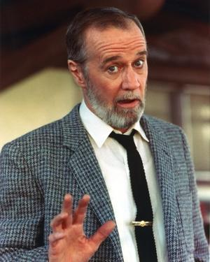 George Carlin Posed in Tuxedo Portrait by Movie Star News