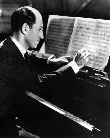 George Gershwin in Black Suit by Movie Star News