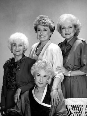 Golden Girls Group Portrait Black and White by Movie Star News