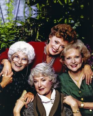 Golden Girls Holding Hands Each Other Portrait by Movie Star News