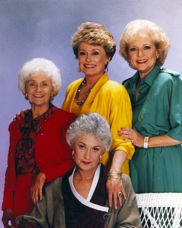 Golden Girls smiling Posed Group Portrait by Movie Star News