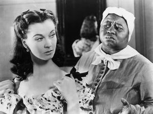 Gone With The Wind Scene in Black and White by Movie Star News