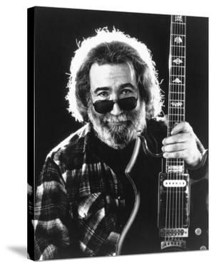 Grateful Dead Portrait in Black and White by Movie Star News