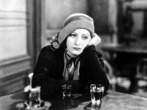 Greta Garbo Leaning and Drinking at the Bar by Movie Star News