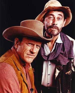 Gunsmoke Two Cowboy Outfit Portrait by Movie Star News