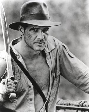 Harrison Ford Holds to a Spear by Movie Star News