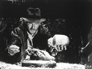 Harrison Ford in a Cowboy's Attire Scene by Movie Star News