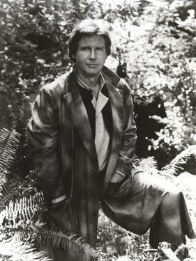 Harrison Ford in a Leather Jacket by Movie Star News