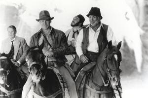 Harrison Ford Riding a Horse with Friends by Movie Star News
