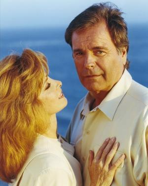 Hart To Hart Man in Polo and Woman in White Blouse by Movie Star News