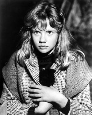Hayley Mills in Printed Coat by Movie Star News