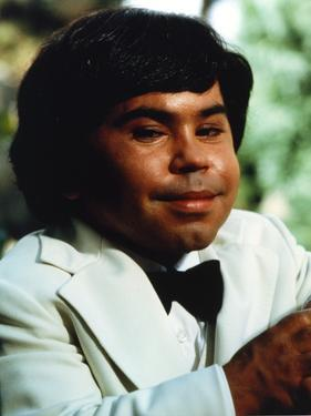 Herve Villechaize Portrait in White Tuxedo by Movie Star News