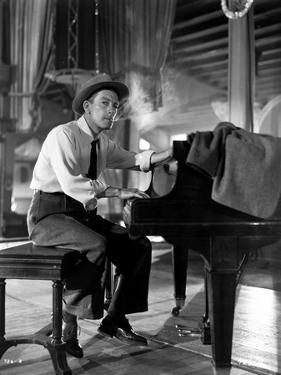 Hoagy Carmichael on Piano in Classic Portrait by Movie Star News