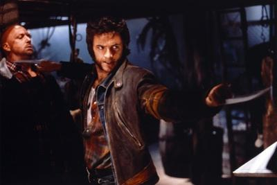 Hugh Jackman as Wolverine in X-Men Movie on a Fight Scene by Movie Star News