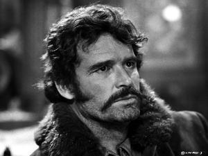James Garner Close Up With Fur Collar by Movie Star News
