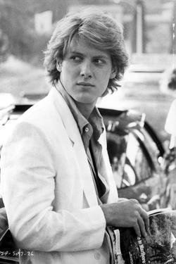 James Spader Posed in White Coat by Movie Star News