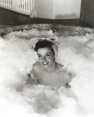 Jane Russell Posed on a Bath Tub with a Head Towel by Movie Star News