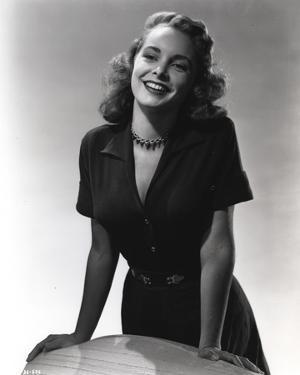 Janet Leigh posed in Black Dress by Movie Star News