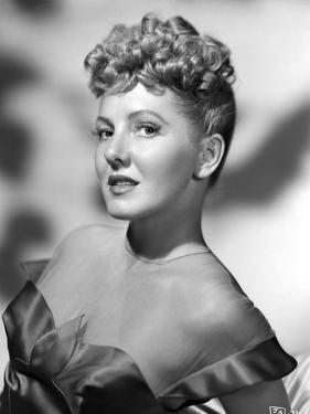 Jean Arthur on Dress standing Slightly Reclining Portrait by Movie Star News