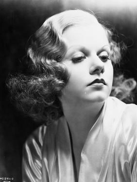 Jean Harlow Portrait in Silk Robe by Movie Star News