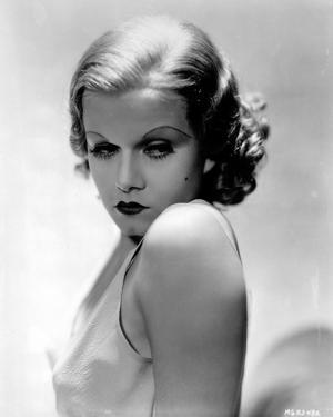 Jean Harlow Portrait in White Tank Top by Movie Star News