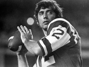 Joe Namath Playing Rugby in Rugby Attire by Movie Star News