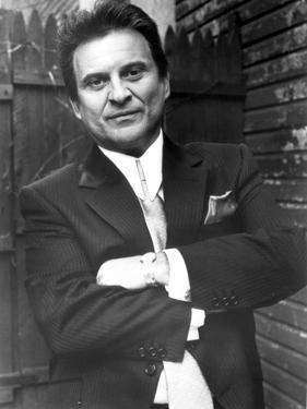 Joe Pesci Leaning in Tuxedo by Movie Star News