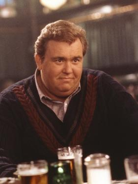 John Candy in Black Sweater with Beer by Movie Star News