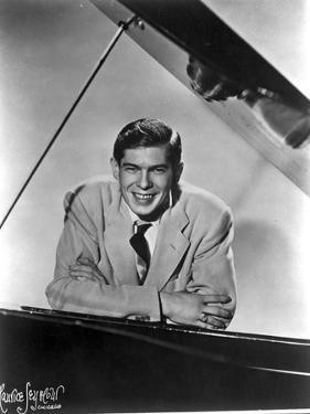 Johnnie Ray Leaning on Piano by Movie Star News