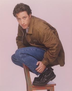 Jon Stewart Top of a Chair Portrait by Movie Star News