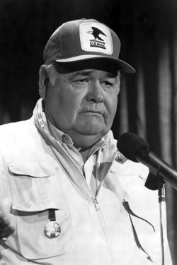Jonathan Winters Posed in White Suit by Movie Star News