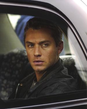 Jude Law in Car by Movie Star News