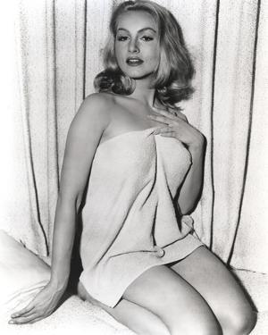 Julie Newmar in Lingerie by Movie Star News