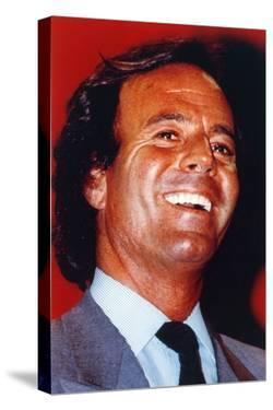 Julio Iglesias Portrait in Formal Attire by Movie Star News