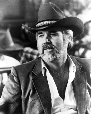 Kenny Rogers in Cowboy Outfit Close Up Portrait by Movie Star News