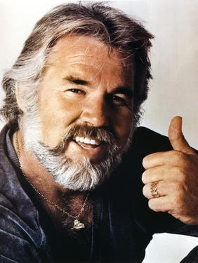 Kenny Rogers smiling Close Up Portrait by Movie Star News