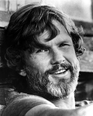 Kris Kristofferson Close Up Portrait by Movie Star News