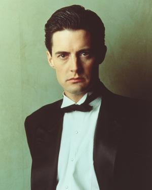 Kyle MacLachlan in Suit Portrait by Movie Star News