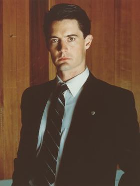 Kyle MacLachlan standing in Tuxedo Portrait by Movie Star News