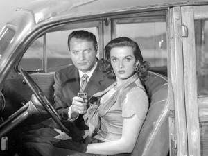 Las Vegas Story Holding Pistol Couple Portrait by Movie Star News