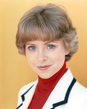 Lauren Tewes Posed in White Coat by Movie Star News