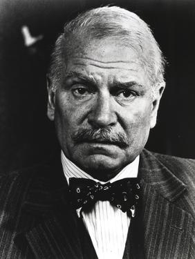 Laurence Olivier in Formal Suit with Bowtie Close Up Portrait by Movie Star News
