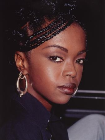 Lauryn Hill Close Up Portrait by Movie Star News