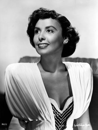 Lena Horne in White Dress in Black and White Outfit by Movie Star News