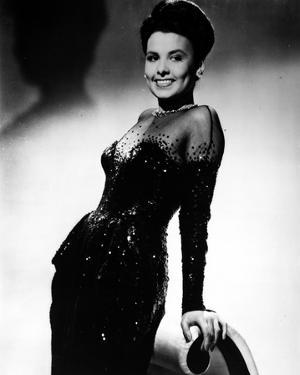 Lena Horne posed in Black Gown with Gloves by Movie Star News