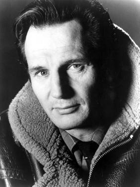 Liam Neeson in Fur Coat Portrait by Movie Star News