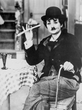 Lucille Ball in Charlie Chaplin Outfit by Movie Star News